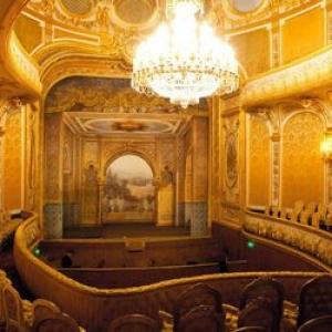 تصویر - بازسازی  تئاتر شیخ خلیفه   در پاریس توسط امارات - معماری