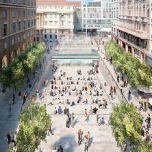 عکس - کانسپت اپل برای میدان پلازای میلان