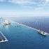 عکس - آغاز به کار بزرگترین نیروگاه خورشیدی شناور جهان در هواینان چین