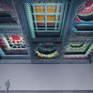 عکس - اینستالیشن مجازی موزه اسمیتسونیان با پسزمینه رنسانس