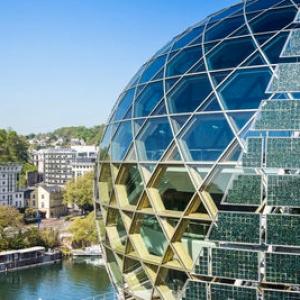 عکس - همکاری بین المللی معماران برای طراحی یک نماد شهری