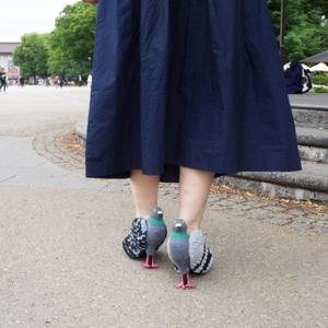 تصویر - کفش هایی به شکل کبوتر در هماهنگی با حیات وحش پارک ایونو توکیو  - معماری