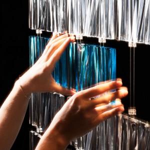 عکس - تایل های شیشه ای Tile LED D95 ، اثر طراح Pamio Design , ایتالیا