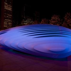 تصویر - پاویون Burnham ، اثر Zaha Hadid Architects ، شیکاگو - معماری