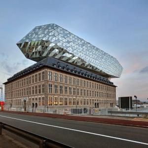 تصویر - ساختمان اداری بندرگاه Port House ، اثر تیم طراحی معماری زاها حدید ، بلژیک - معماری
