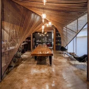 عکس - طراحی داخلی دفترکار Rope Wave Office , اثر تیم طراحی Jing-Rui Lin , شانگهای چین