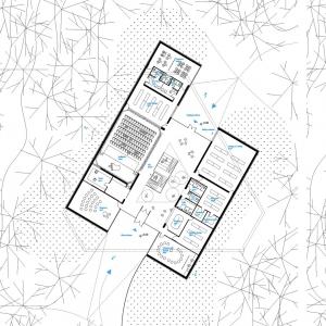 تصویر - مرکز فرهنگی Arvo Part , برنده جایزه Special Mention , اثر تیم طراحی OFIS Arhitekti , استونی - معماری