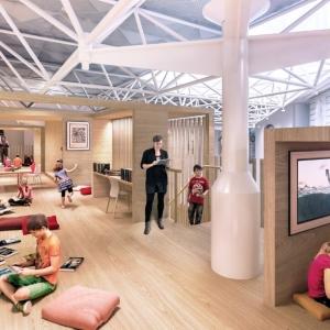 عکس - طرح گسترش کتابخانه ایالتی ویکتوریا , اثر تیم طراحی معماران Schmidt Hammer Lassen , استرالیا