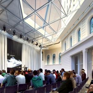 تصویر - طرح گسترش کتابخانه ایالتی ویکتوریا , اثر تیم طراحی معماران Schmidt Hammer Lassen , استرالیا - معماری