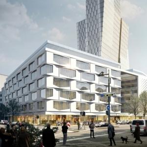 عکس - هتل و ساختمان مسکونی , تجاری , اثر هادی تهرانی , فرانکفورت