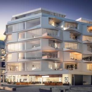 تصویر - هتل و ساختمان مسکونی , تجاری , اثر هادی تهرانی , فرانکفورت - معماری