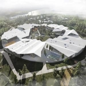 عکس - طرح پیشنهادی مرکز آموزشی هوشمند , اثر شرکت آلمانی CEBRA , روسیه