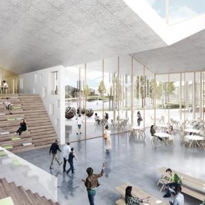 تصویر - طرح پیشنهادی مرکز آموزشی هوشمند , اثر شرکت آلمانی CEBRA , روسیه - معماری