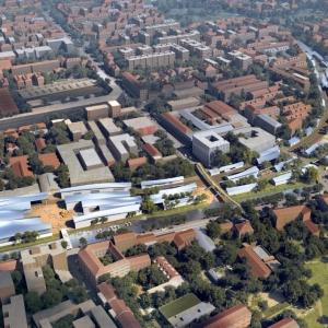 عکس - رونمایی از طرح پیشنهادی MAD برای ویرانه های راه آهن میلان , اثر معماران MAD