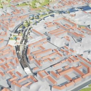 تصویر - رونمایی از طرح پیشنهادی MAD برای ویرانه های راه آهن میلان , اثر معماران MAD - معماری