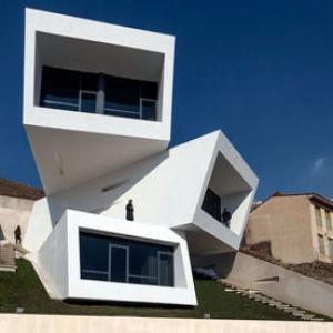 عکس - جلوهای از موج نو معماری ایران در یک پروژه فرمالیستی