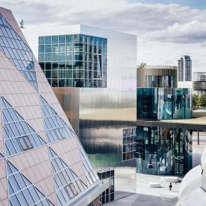 عکس - افتتاح منطقه طراحی لندن در شبه جزیره گرینویچ