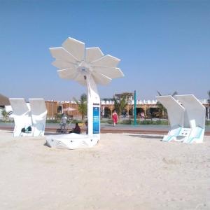 تصویر - نخل های خورشیدی هوشمند،دبی را به وای فای و ایستگاه شارژ مجهز می کنند. - معماری
