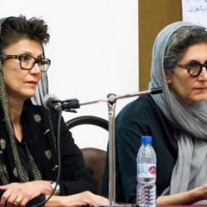 عکس - گفتوگو با خواهران حریری معماران شناخته شده ایرانی- آمریکایی