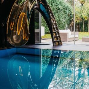 تصویر - سرسره آبی مدرن - معماری