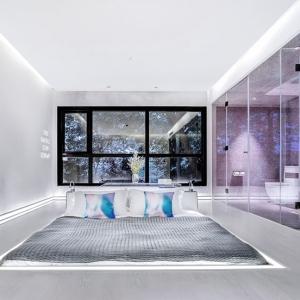 عکس - طراحی اتاق خواب متفاوت هتلی در چین