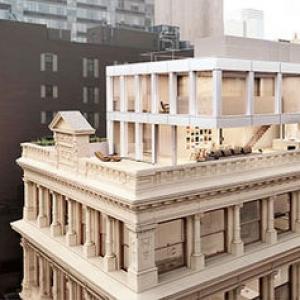 عکس - پیوند سازههای الحاقی مدرن و بناهای نئوکلاسیک
