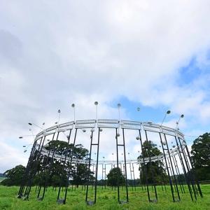 تصویر - سازه عظیم موسیقیایی NEON ،صدای سواره نظام روم را شبیه سازی می کند. - معماری