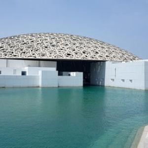 تصویر - امارات آماده افتتاحیه بزرگ موزه لوور ابوظبی میشود - معماری