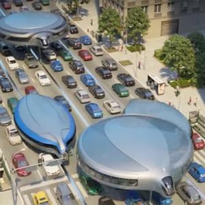 عکس - حمل و نقل عمومی ژیروسکوپیک: رفت و آمد  شما در آینده ؟