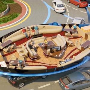 تصویر - حمل و نقل عمومی ژیروسکوپیک: رفت و آمد  شما در آینده ؟ - معماری