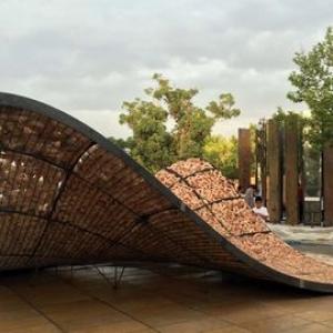 تصویر - بروننمایی یک نوستالژی در پاویون   بیکران  - معماری
