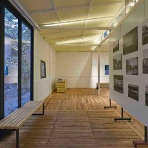تصویر - طراحی یک گالری هنری بر پایه باغ ایرانی - معماری