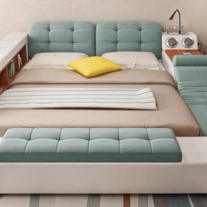 تصویر - تخت خوابی چند منظوره با گجت ها و فضای زیاد - معماری