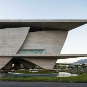 تصویر -  شهر هنر ؛ مونومان بصری در یک جغرافیای طبیعی - معماری