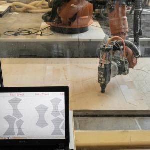 تصویر - پاویون تحقیقاتی ICD-ITKE , اثر تیم طراحی و سازه ICD-ITKE از دانشگاه Stuttgart , آلمان - معماری