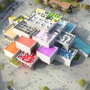 عکس - نگاهی به LEGO House یا خانه لگو در دانمارک