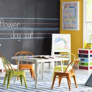 تصویر - صندلی و میز تحریر کودک - معماری