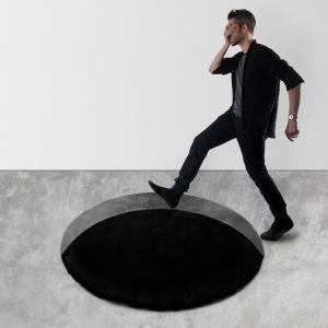 تصویر - فرشی که خطای بصری ایجاد می کند. - معماری
