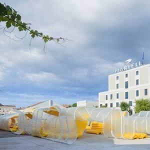 تصویر - زیباییشناسی شفافیت در پاویون 2018 فرانسه - معماری