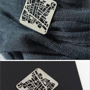 تصویر - طراحی جواهرات از روی نقشه شهرها - معماری
