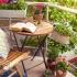عکس - گل و گیاه در تراس خانه های ایرانی