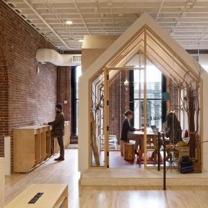 عکس - طراحی داخلی دفتر شرکت AirBnB , اثر معماران Bora Architects , آمریکا