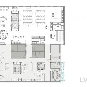 تصویر - طراحی داخلی دفتر شرکت AirBnB , اثر معماران Bora Architects , آمریکا - معماری