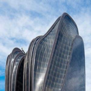 تصویر - توپوگرافی کوهستان در طراحی برجهای دوقلوی پکن - معماری