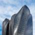 عکس - توپوگرافی کوهستان در طراحی برجهای دوقلوی پکن