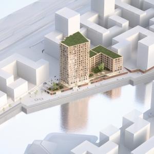 تصویر - نخستین برج چوبی آلمان در هامبورگ ساخته میشود - معماری