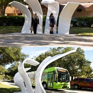 عکس - ایده های خلاقانه در طراحی مبلمان شهری -ایستگاه اتوبوس شهری