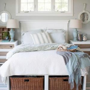 عکس - چطور از فضای اتاق خواب ،استفاده بهینه کنیم؟