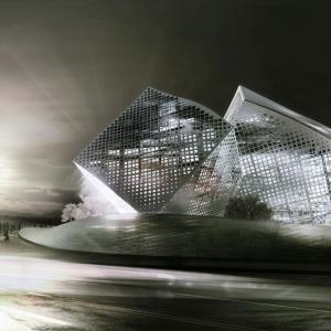 تصویر - کانسپت تعلیقی مرکز مُد و فشن چین - معماری
