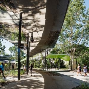 تصویر - طراحی مسیر پیاده دانشگاه James Cook , اثر معماران Wilson Architects , استرالیا - معماری